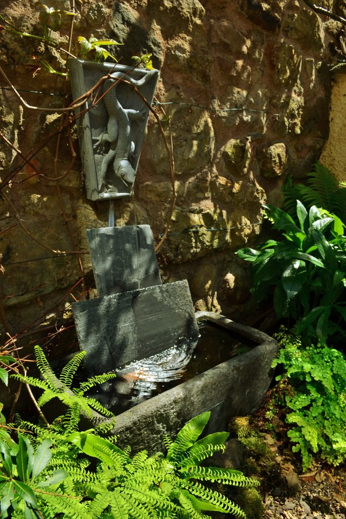 enchanted corner trough wall fountain